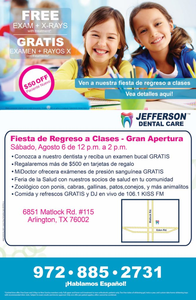 matlock grand opening poster jefferson dental clinics